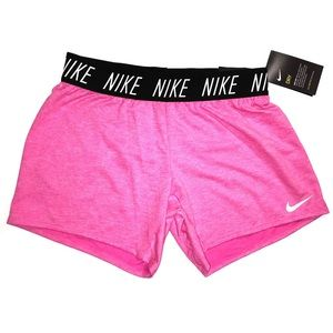 NWT Girls Nike Dri-Fit Training Shorts